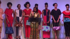 Africa Fashion Week London 2016 - Speech By Our Special Guest H.E Mrs Do...