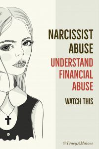 Were You Financially Abused by a Narcissist? - Narcissist Abuse Support. What is financial abuse by a narcissist? Understand financial abuse. #narcissist