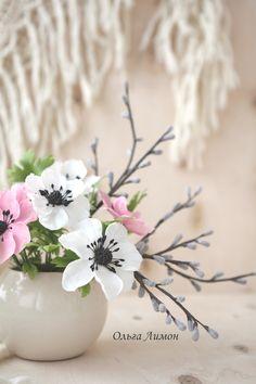 Anemone - My handmade flowers =)