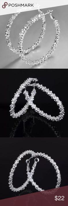 925 Sterling Silver Hoop Earrings 925 Sterling Silver Hoop Earrings Jewelry Earrings