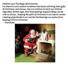 Children Love The Magic Of Christmas