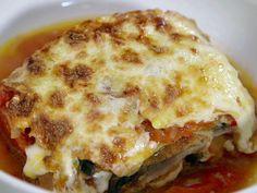 Eggplant Parmigiana 2 recipe from Alex Guarnaschelli via Food Network