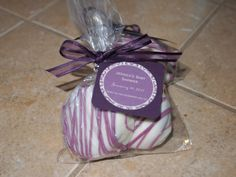 12 Chocolate covered oreo party favors (24 oreos) choose colors