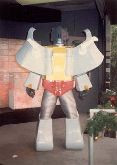80's Transformers at Universal Studios Hollywood