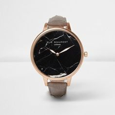 Keep on time and on trend in our range of women's watches this autumn/winter. From rose gold watches to bracelet watches, find your ideal timepiece here. Rose Gold Watches, Black Marble, River Island, Trendy Fashion, Bracelet Watch, Michael Kors, Shoe Bag, Lady, Accessories