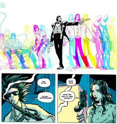 Matt Fraction's Casanova: Gula art by Gabriel Ba and Fabio Moon Gabriel, Fabio Moon, Graphic Novel Art, Comic Styles, Comic Page, Comic Books Art, Drawing Reference, Manga Anime, Fashion Art