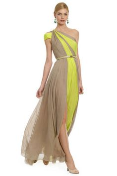 Matthew Williamson Jungle Whispers Gown