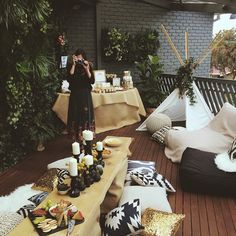 I was very lucky to have my girl @madisonaw_ all the way from Sydney by my side yesterday to help me set up and to celebrate my baby shower with me - thanks a bunch mads xx