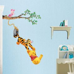 Pooh Wall Murals | Winnie The Pooh Decals Mural Wall Decor Stickers 243 |  EBay Part 89