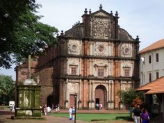 Bom Jesus Basilica, perhaps Goa's most famous church and among the most revered by Christians worldwide.
