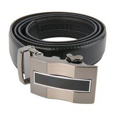 Classical Automatic Belt Buckle Genuine Leather Belts Waist Strap sale
