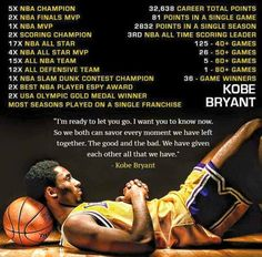 A Tribute to Kobe Bryant From RareNorm! Kobe Bryant Family, Kobe Bryant 8, Lakers Kobe Bryant, Kobe Quotes, Kobe Bryant Quotes, Puerto Rico, Dear Basketball, Basketball Stuff, Basketball Pictures