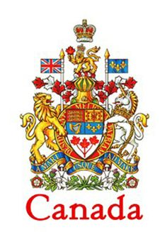 Canadian Coat of Arms COGwriter What are the origins of the non-indigenous peoples of Canada? Since the word 'Canada' is not mentioned Canadian Coat Of Arms, I Am Canadian, Canadian History, Canadian Things, Canadian Symbols, Canadian Culture, Templer, Canada Eh, Queens
