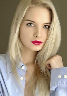 Beautiful Girl Image, Beautiful Eyes, Beautiful Women, Blonde Beauty, Blonde Hair, Blonde Women, Gorgeous Blonde, Girl Senior Pictures, Cute Beauty