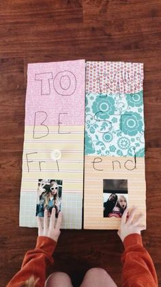 Hottest Pics bff Birthday Gifts Strategies I not really know of you, however it looks like I am just always carrying my children with a bday pa Birthday Presents For Friends, Cute Birthday Gift, Diy Gifts For Friends, Friend Birthday Gifts, Diy Gifts For Boyfriend, Happy Birthday Cards, Diy Birthday, Best Friend Gifts, Diy Bff Gifts