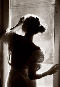 Beautiful silhouette