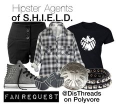 """Agents of S.H.I.E.L.D. Marvelbound by DisThreads"" by disthreads ❤ liked on Polyvore"