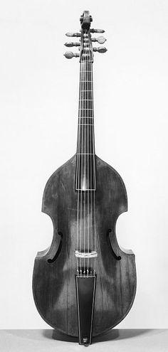 Bass viol, ca. 1600   Rose, John   V