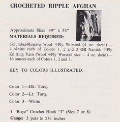 ☮ 👰🏼 ☮ Colcha em Crochê Clássica Rippy Indiana -  /  ☮ 👰🏼 ☮ Bedspread Crocheted  Classic Ripple  Indiana -