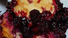 """""""Throw together this cobbler in minutes using fresh berries from the yard!""""  Ingredients     1 cup all-purpose flour   1 1/2 cups white sugar, divided   1 teaspoon baking powder   1/2 teaspoon salt   6 tablespoons cold butter       1/4 cup"""