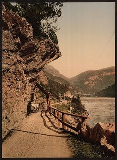 [The road from Eide to Voss, Hardanger Fjord, Norway] (LOC) - see site for many more