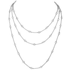 Arja's 60 in. 60 CZs by the Yard Necklace