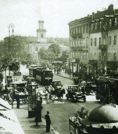 Ulice przedwojennej Warszawy (ZDJĘCIA) Visit Poland, Warsaw Poland, Train Station, In The Heights, The Past, Places To Visit, Old Things, Street View, City