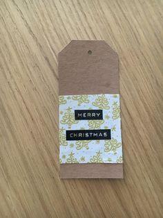 Etiqueta navideña, Christmas tag