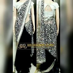 SDS-DS2 FABRICS: chiffon and light shimmer. Customized navy blue and silver combination saree with simple boat neck plain blouse for a dear customer. To place an order plz inbox us or mail us at siridesignerstudio@gmail.com Thank you.
