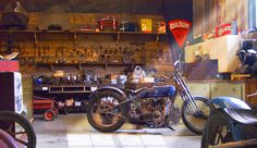 Old Motorcycle Shop 2