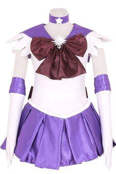 Sailor Moon Sailor Saturn Hotaru Tomoe Dress Cosplay Costumes by lisalamonicao on Etsy https://www.etsy.com/listing/498684640/sailor-moon-sailor-saturn-hotaru-tomoe