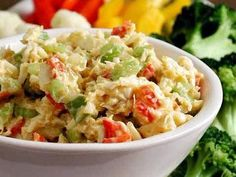 Curried Crab Spread | This cold crab spread can be made up to a couple of days ahead. If you want to make the crostini ahead, let the slices cool completely on a wire rack, then place them in a zip-top plastic bag.