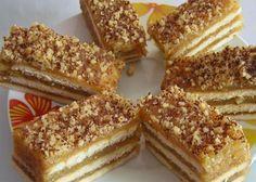 Jablká sú najčastejším ovocím, ktoré pestujeme v sadoch alebo vo svojich… Kolaci I Torte, Serbian Recipes, Icebox Cake, Baking Cupcakes, Fancy Cakes, Sweet Cakes, Desert Recipes, Cakes And More, Creative Food