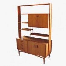 Vintage Room Divider from G-plan, Wall Desk, Vintage Room, Woody, Bunk Beds, 1960s, Divider, Shelves, How To Plan, Stuff To Buy