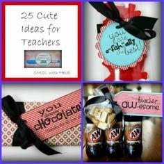 25 Cute Ideas for Teachers