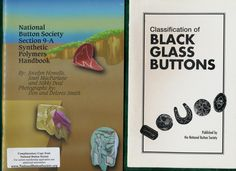 ButtonArtMuseum.com - Wonderful Selection of Four NBS issued Booklets on Buttons