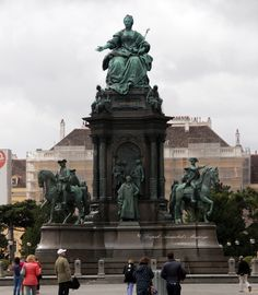 https://flic.kr/p/WWgE33 | Empress Maria Theresa  statue in Vienna. | Empress Maria Theresa was the only female ruler of the Habsburg dominions and the last.