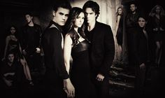 stefan,elena and damon <3  i love this pic