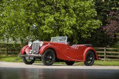 1938 MG VA Tourer