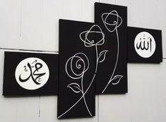 22 Best Lukisan Kaligrafi Minimalis Images Easy Canvas Painting