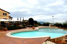 Una delle piscine di Borgo Brufa Spa Resort