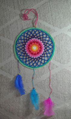 Mandala Dream Catcher, Mandala, Home Decor, Blue Prints, Dreamcatchers, Decoration Home, Room Decor, Home Interior Design, Mandalas