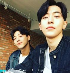 There is a new bromance in K-town, whether it was created from reel to real or vice-versa it doesn't matter because both are just so sweet together. Rising actors Nam Joo Hyuk and Ji Soo have been gallivanting from drama … Continue reading → Asian Actors, Korean Actors, Korean Dramas, Ji Soo Nam Joo Hyuk, Nam Joo Hyuk Wallpaper, Ji Soo Actor, Jong Hyuk, Song Joong, Ulzzang