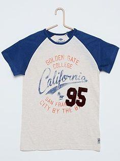 Tee-shirt imprimé 'California'
