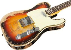 Fender Custom Shop Limited 1963 Heavy Relic Telecaster - $4300