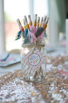 Tribal Princess Birthday Party via Kara's Party Ideas | KarasPartyIdeas.com (37)