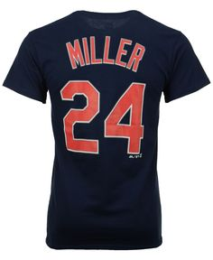 ccfc805c6d8 Majestic Men s Andrew Miller Cleveland Indians Official Player T-Shirt    Reviews - Sports Fan Shop By Lids - Men - Macy s