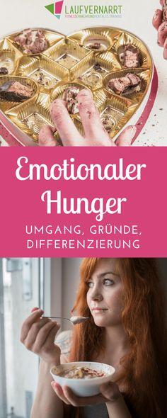 EMOTIONALER HUNGER - Gründe, Differenzierung, Umgang. Erfahre, warum du isst, was der Unterschied zwischen emotionalem und körperlichem Hunger ist und wie emotionaler Hunger ausgelöst wird.