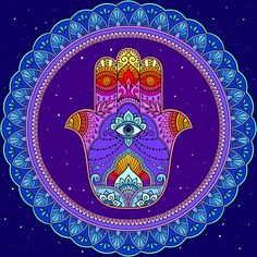 Coloring Sheets, Adult Coloring, Talk To The Hand, Paint By Number, Art Therapy, Hamsa, Logos, Painting, Numbers
