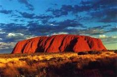 Ayers Rock Australia now called Uluru.